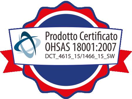 Prodotto Certificato OHSAS 18001:2007