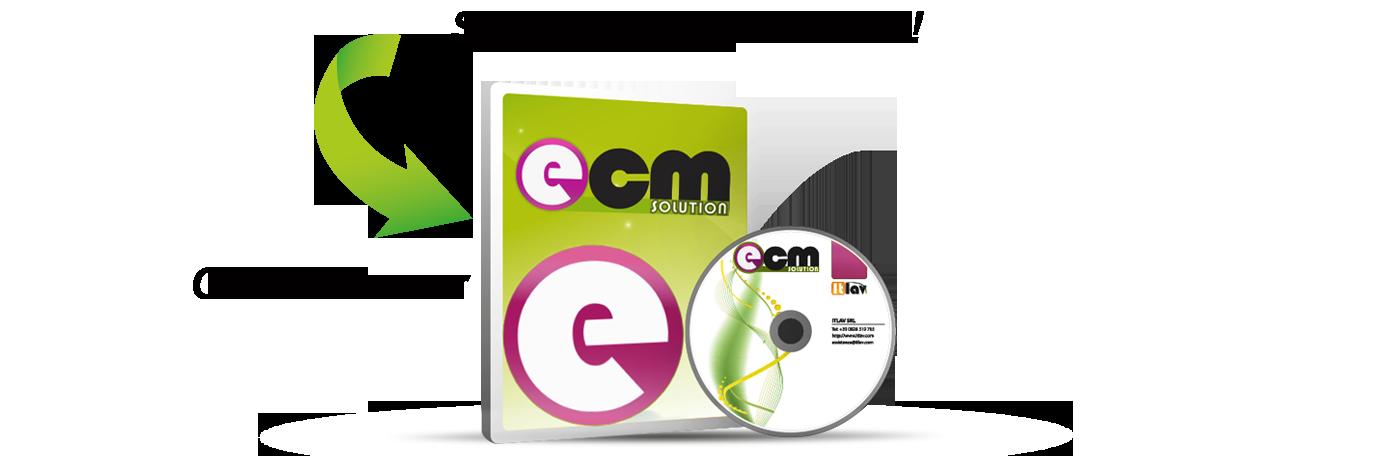 ecm solution in client server