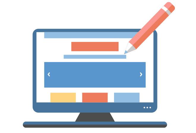 personalizzazione grafica del tuo sito e della fad